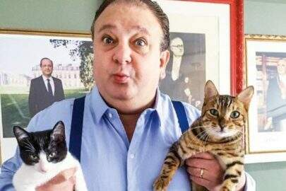 Após memes, Erick Jacquin adota gato e dá nome de 'Tompero'