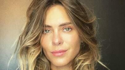 Carolina Dieckmann mostra look com peça de roupa inusitada e chama atenção na web