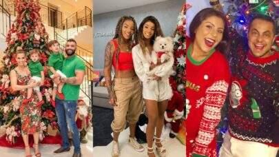 Natal dos famosos: Confira como foi a noite especial das celebridades