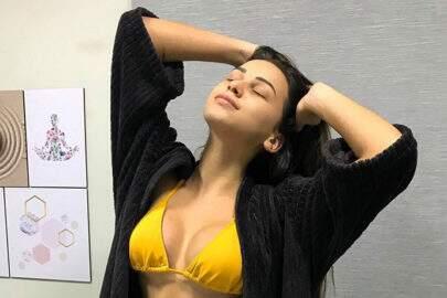 Namorada de Gabriel Jesus, Fernanda Queiroz faz sucesso no Instagram