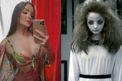 """Menina Fantasma"", Anna Livya Padilha, posa de fio-dental e surpreende"
