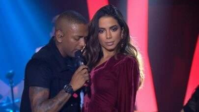 Nego do Borel aparece em ensaio quente com Anitta e é atacado na internet