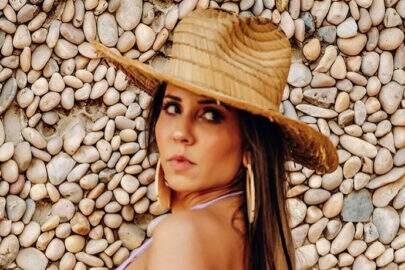Grávida, Mulher Melão divulga fotos de novo ensaio