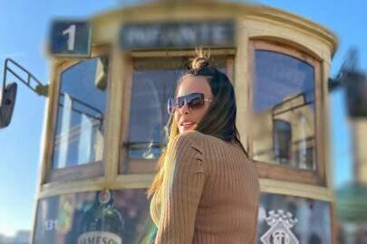 Geisy Arruda mostra bonde de Portugal e é elogiada