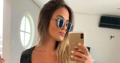 """Ex-BBB Carol Peixinho exibe boa forma em frente ao espelho: """"Tô chegando"""""""