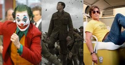 """""""Coringa"""", """"1917"""", """"Era Uma Vez Em… Hollywood"""" e mais; Confira a lista dos filmes indicados ao Oscar 2020"""