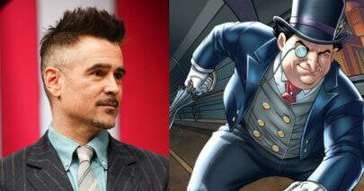 "Fotos indicam suposto visual de Colin Farrell como Pinguim em ""The Batman"""