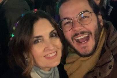 """Túlio Gadêlha e Fátima Bernardes se declaram nas redes sociais: """"A gente manda brasa"""""""