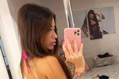 "MC Mirella mostra coleção de biquíni no Instagram: ""Babado"""