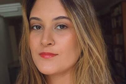 """Filha de Fátima Bernardes mostra look do dia: """"Sempre basiquinha"""""""