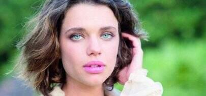 Bruna Linzmeyer surge com look diferenciado e quase mostra demais