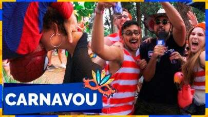 Invadimos um bloquinho para mostrar as fantasias mais inusitadas do carnaval