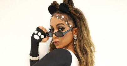 """Anitta surge com figurino inusitado e chama atenção: """"O panda está diferente"""""""