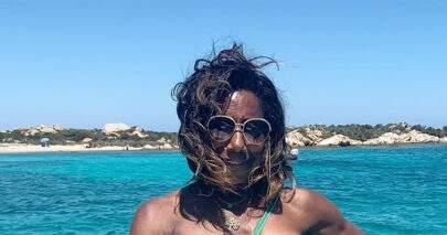 Glória Maria surpreende seguidores ao postar foto ostentando saúde na praia