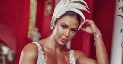 """Gracyanne Barbosa ostenta ótima forma em ensaio de Carnaval: """"Noite mágica"""""""