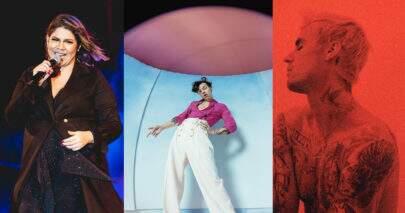 """""""Músicas de sexta"""": Nova música de Marília Mendonça, álbum de Justin Bieber e vídeo de Harry Styles"""