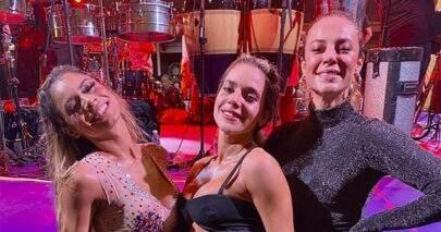 Paolla Oliveira e Lexa dançam muito em vídeo e deixam seguidores hipnotizados