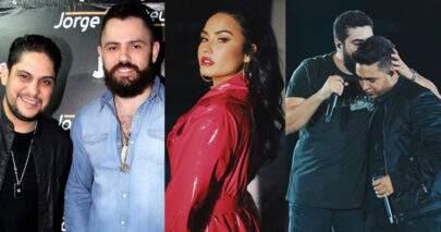 """Músicas de sexta"": EP de Jorge e Mateus, clipe de Demi Lovato e música de Henrique e Juliano"