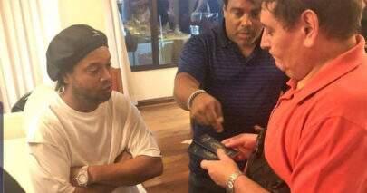 Ronaldinho Gaúcho é detido no Paraguai com passaporte falso