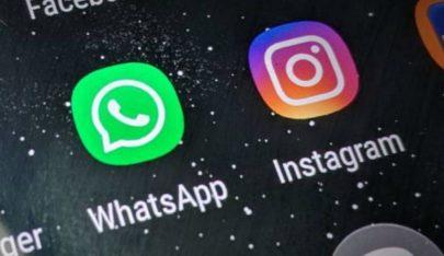 WhatsApp e Instagram apresentam problemas de conexão e internautas reclamam