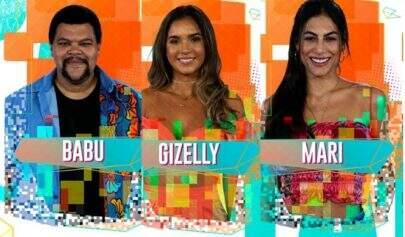 BBB20: Paredão formado! Babu, Gizelly e Mari estão na berlinda