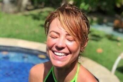 "Paolla Oliveira mostra boa forma na piscina de sua casa: ""Bom te ver"""