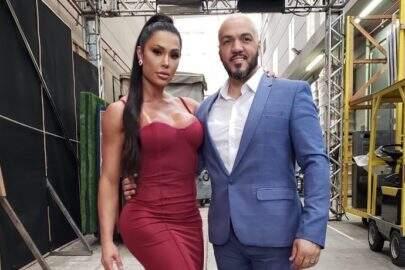 """Gracyanne Barbosa mostra melhores momentos da live de Belo: """"Foi mara!"""""""