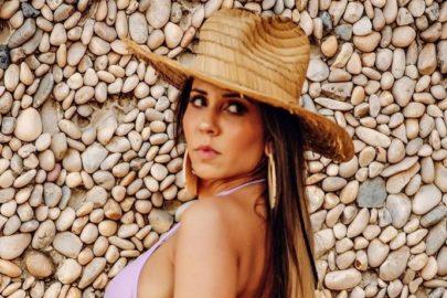 Mulher Melão mostra resultado de bronzeamento artificial e web vai à loucura