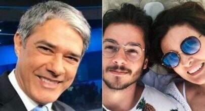 """Fátima Bernardes chama atual namorado de """"William"""" ao vivo e reage"""