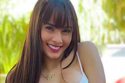 """Juliana Caetano mostra novo corte no cabelo e pede opinião: """"Gostaram?"""""""