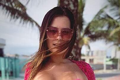 Geisy Arruda mostra foto inédita de ensaio exclusivo do 'Proibidão'