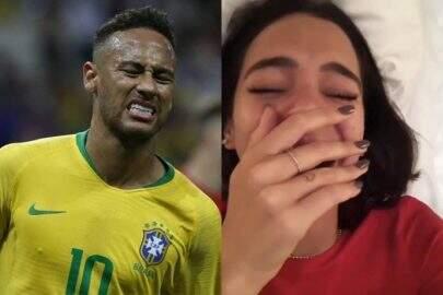 """Supostos prints de Marquezine falando de Neymar com Flay vaza e atriz diz: """"É fake"""""""