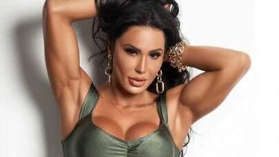Gracyanne Barbosa posta vídeo alongando e choca seguidores com flexibilidade