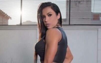 Gracyanne Barbosa posta vídeo dançando e quase mostra demais