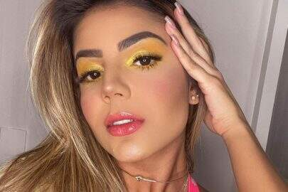 Ex-BBB Hariany Almeida renova bronzeado durante quarentena e ostenta beleza natural