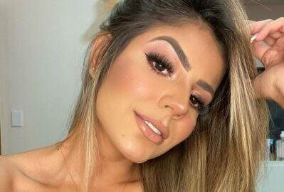 Ex-BBB Hariany Almeida esbanja beleza natural em selfie encantadora
