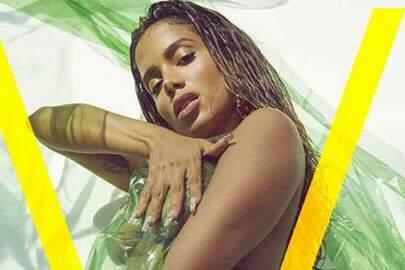 Com ensaio impressionante, Anitta estampa capa da V Magazine