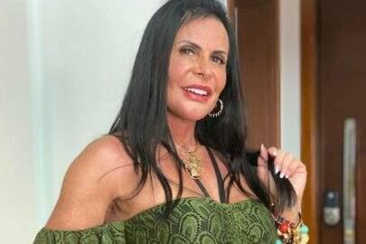 """Aos 61 anos, Gretchen exibe shape sarado e brinca: """"Diva não envelhece, fica vintage"""""""