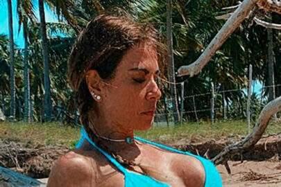 """Luciana Gimenez deixa seguidores chocados com foto de boa forma: """"Inacreditável"""""""