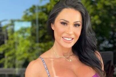 Gracyanne Barbosa posa de biquíni e corpo sarado impressiona seguidores