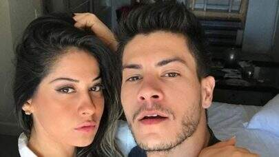 Mayra Cardi recebe intimação e está proibida de falar nome do ex-marido Arthur Aguiar