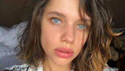 Bruna Linzmeyer posa com look transparente e web vai á loucura