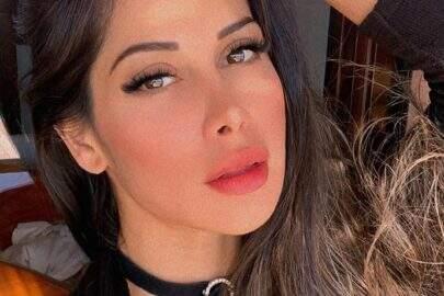 """Mayra Cardi é desbloqueada em aplicativo de namoro e comemora: """"Coroas maravilhosos"""""""