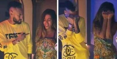Em Ibiza, Anitta e Neymar se encontram e fazem dancinha juntos em vídeo