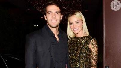 """Grávida, Carol Dias Leite posta clique de ensaio com Kaká: """"Tenham amor"""""""