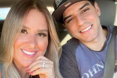 """Patrícia Leitte brinca em vídeo com o namorado: """"Tentando sensualizar"""""""