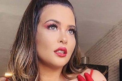 Geisy Arruda curte dia em Cuiabá e detalhe inusitado chama a atenção
