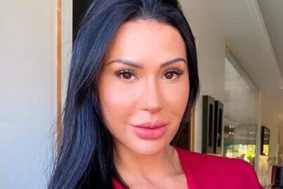 """Gracyanne Barbosa posa vídeo treinando pesado e choca web: """"Que disposição"""""""
