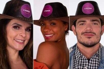 'A Fazenda 12': JP Gadêlha, Lidi Lisboa e Luiza Ambiel estão na roça