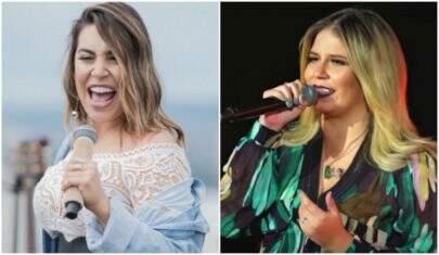 Naiara Azevedo grava música em parceria com Marília Mendonça